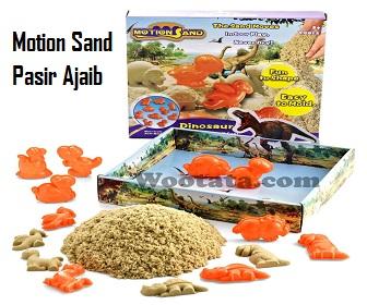 mainan pasir anak Motion Sand