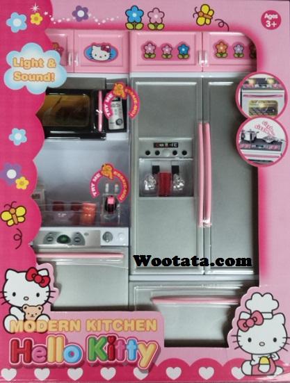 modern kitchen hello kitty 26215hk