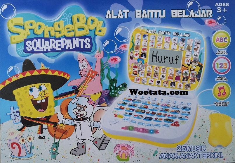 alat bantu belajar berhitung spongebob