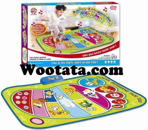 animal hopscotch playmat HX0911