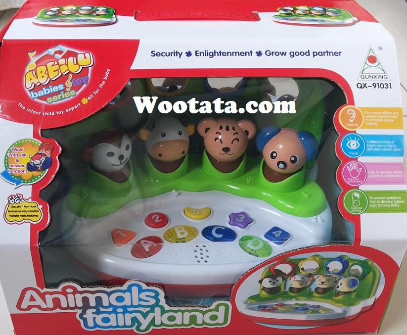 mainan edukatif anak umur 1 tahun animals fairyland