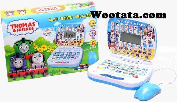 mainan laptop mini murah thomas and friends