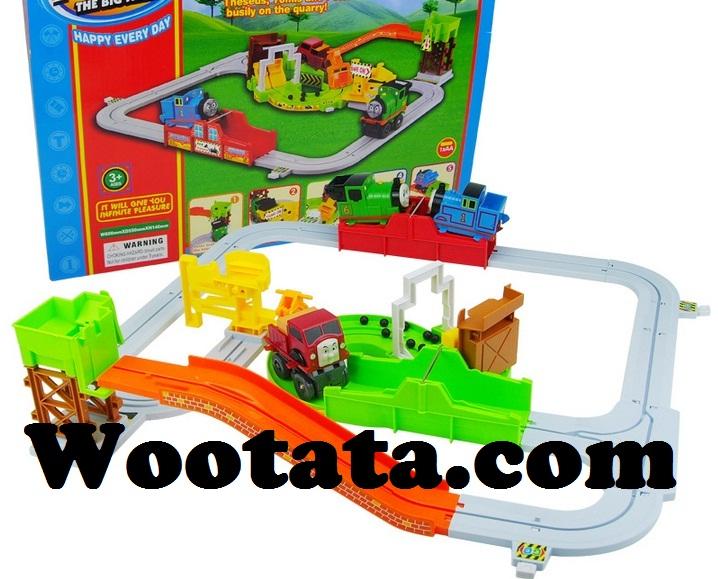 mainan kereta api mini tomis quarry