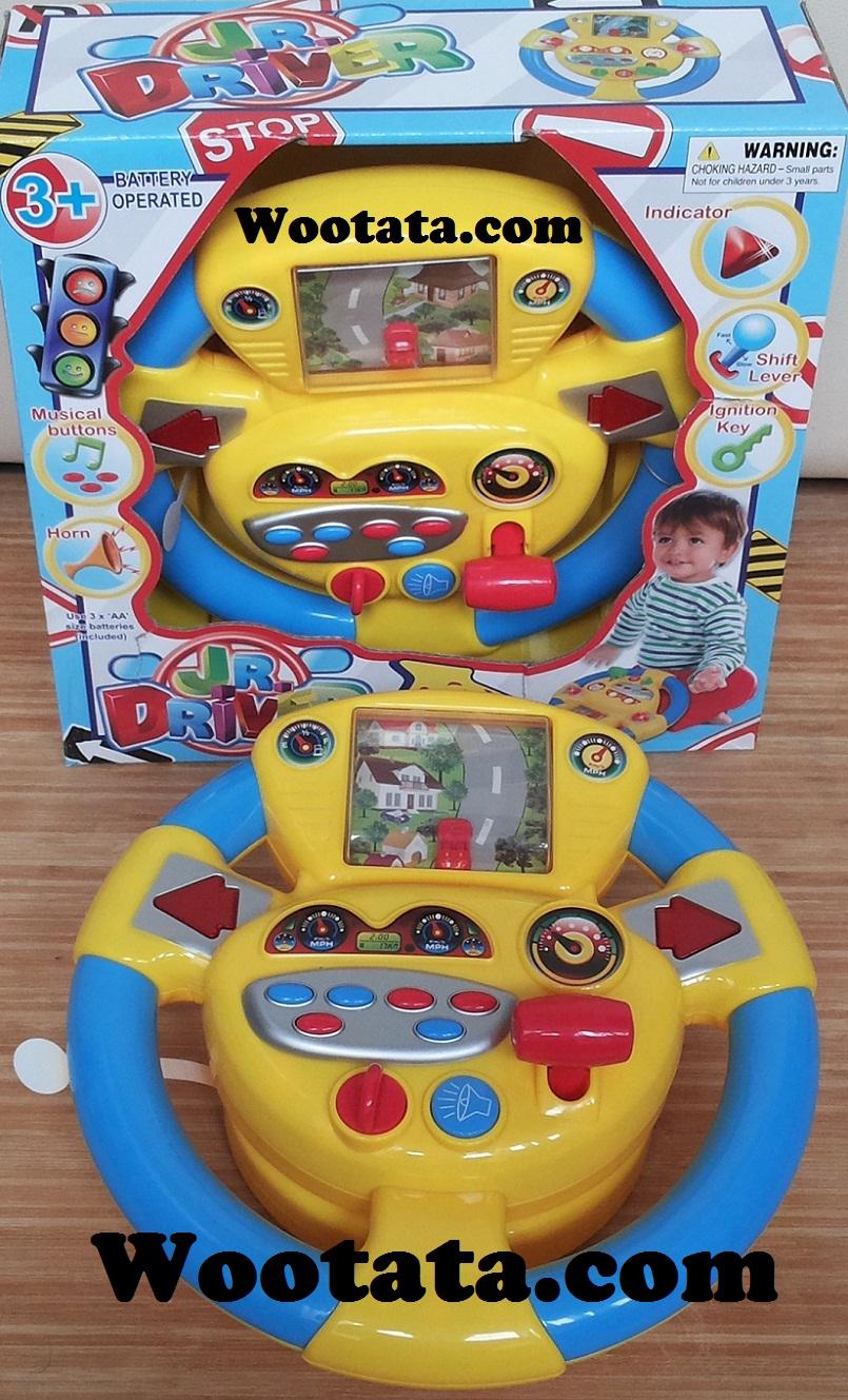 mainan setir mobil anak terbaru jr driver