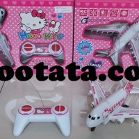 Mainan Pesawat Remote Control Hello Kitty Murah