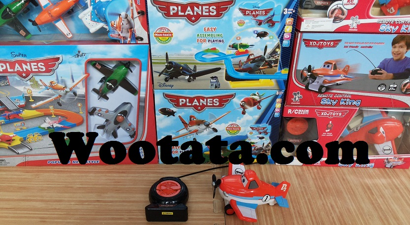 pusat penjualan mainan remote control planes dusty di Indonesia