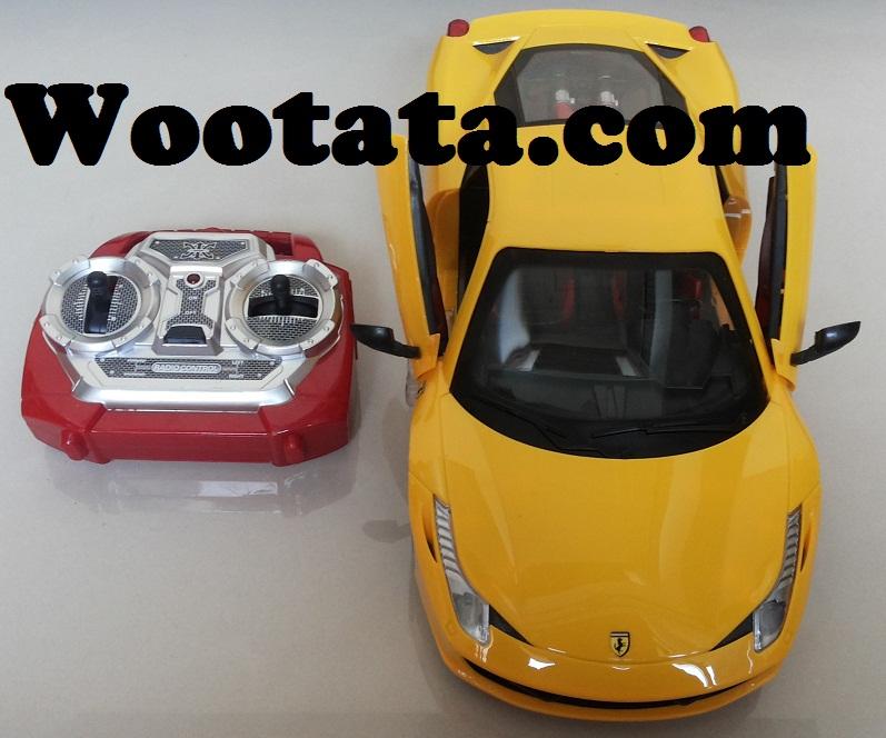 jual mainan mobil remote control ferrari 458 super the car di bandung
