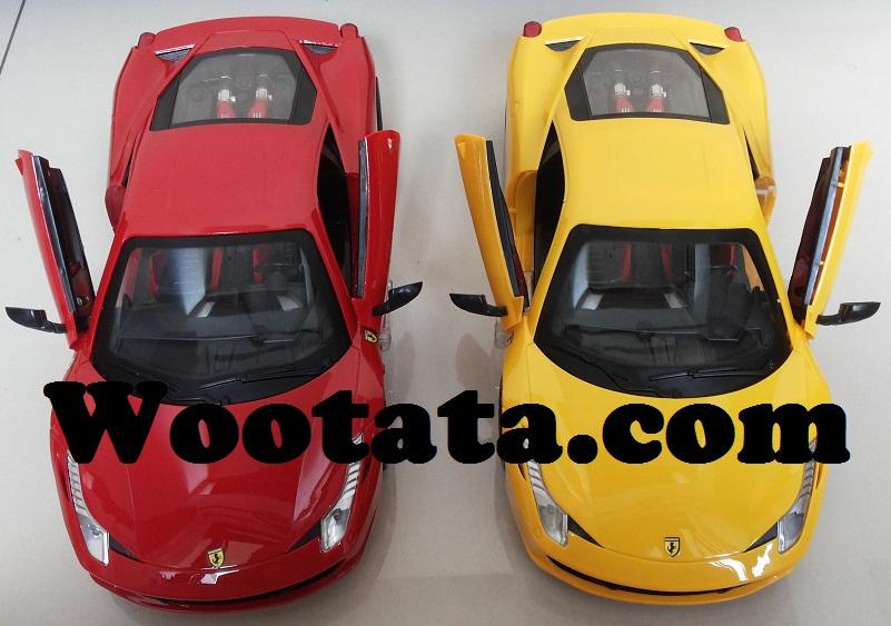 jual mainan remote control mobil balap ferrari 458 italia