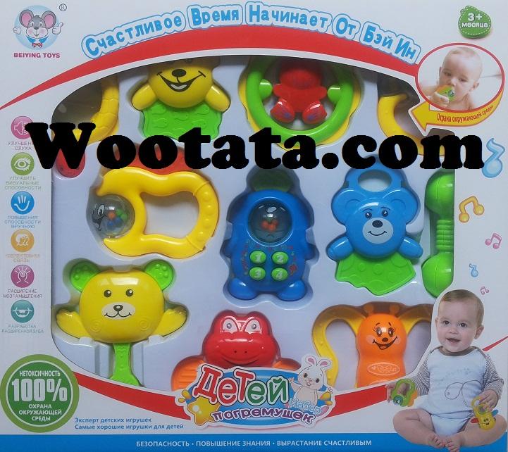mainan bayi 3 bulan yang aman baby set