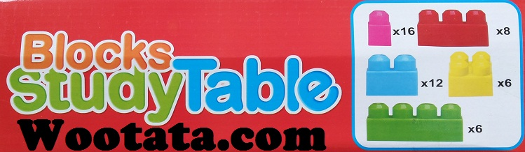 mainan block murah blocks study table