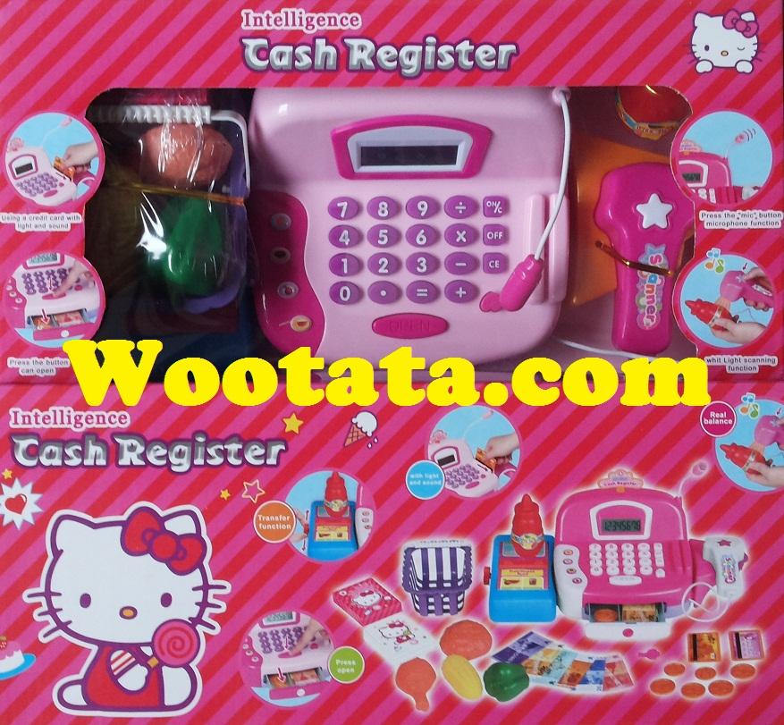 mainan cash register anak bergambar hello kitty