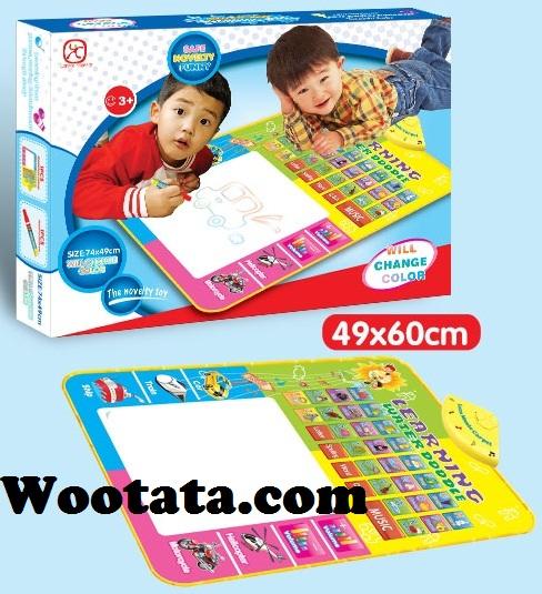 mainan edukasi terbaru untuk anak 3 tahun water doodle mat