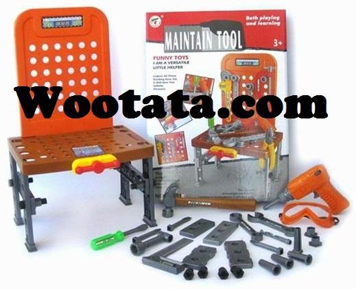 mainan peralatan tukang untuk anak maintain tool