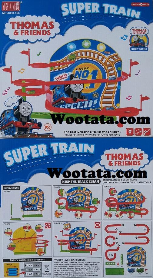 mainan track terbaru thomas super train