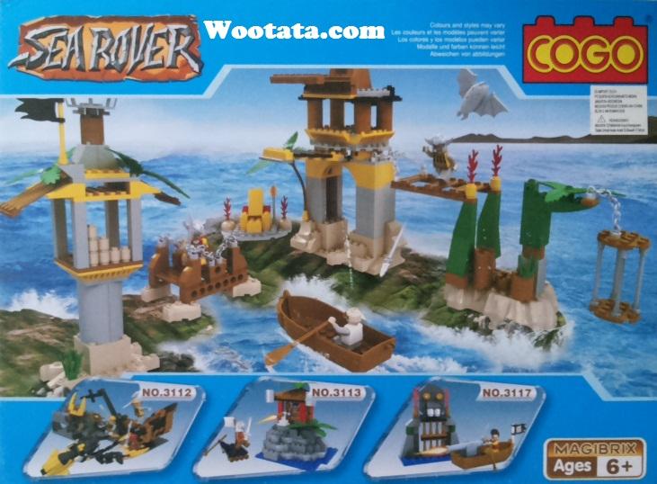 jual mainan cogo sea rover 3110
