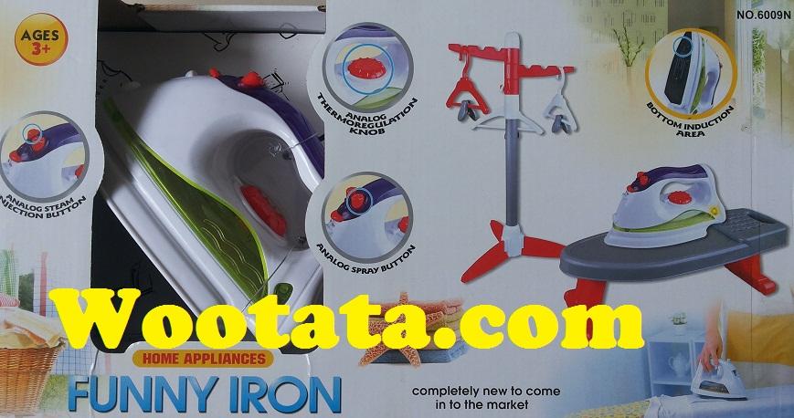 mainan setrika anak terbaru funny iron