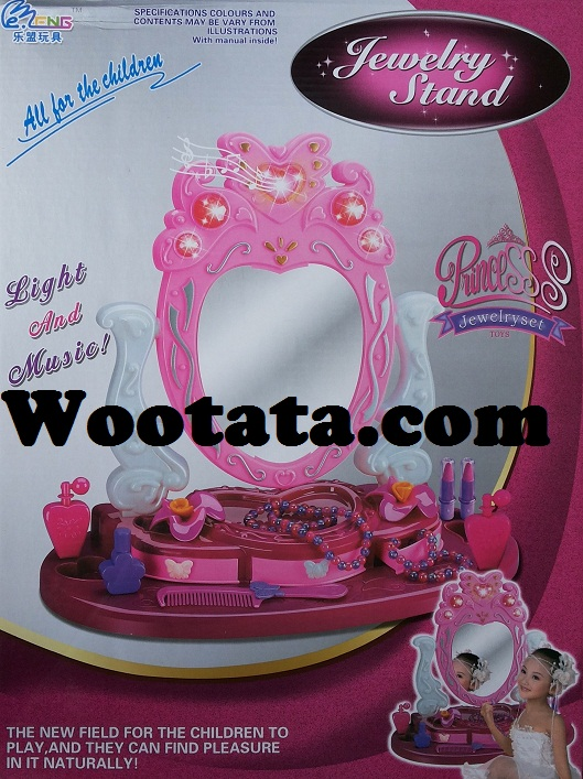 jual jewelry stand mainan meja rias untuk anak perempuan