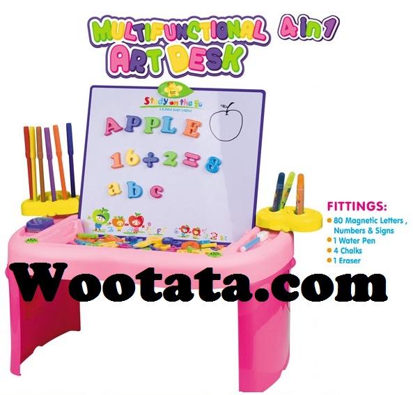 toko mainan edukasi anak umur 3 tahun multifunctional art desk