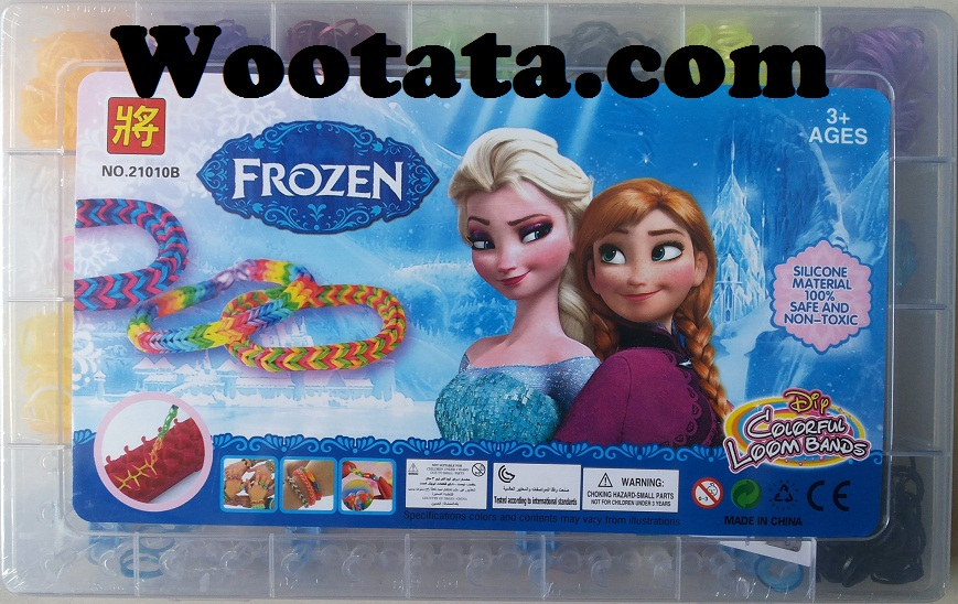 jual loom bands frozen original